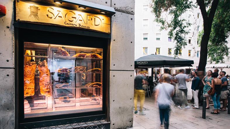 Restaurante Sagardi en Barcelona