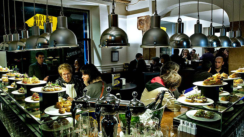Golfo de Bizkaia - Barcelona - Restaurante