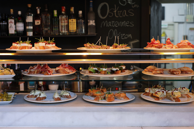 Golfo de Bizkaia - Madrid - Restaurante